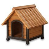 Pet Squeak Arf Frame Dog House with Dark Frame