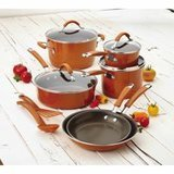 Rachael Ray 12-Piece Hard Enamel Nonstick