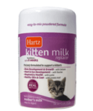 Hartz Kitten Milk Replacer Powdered Formula