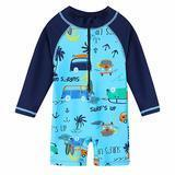HUAANIUE Boy One-Piece Swimsuit