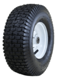 Marathon Pneumatic Tire on Wheel