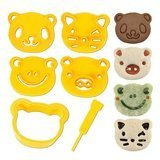 CuteZCute Animal Friends Food Deco Cutter and Stamp