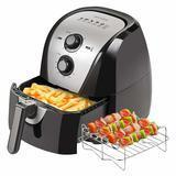 Secura Electric Hot Air Fryer Extra Large Capacity Air Fryer and Additional Accessories