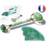 Akarell Jade Roller and Gua Sha Set