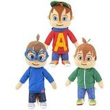 "Alvin and the Chipmunks 8.5"" Plush Set - Alvin, Simon, and Theodore"