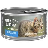 American Journey Minced Salmon & Tuna Recipe in Gravy Grain-Free Canned Cat Food