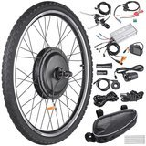 "AW 26"" x 1.75"" Front Wheel Electric Bicycle Motor Kit 48V 1000W"