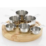 Bellemain 6-Piece Stainless Steel Measuring Cup Set