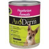 AvoDerm Natural Dog Food for All Life Stages Vegetarian Formula