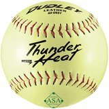 Dudley Thunder Heat Hycon Slow Pitch Softball, 12-Inch