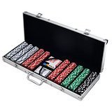 Trademark Poker Poker Chip Set with 500 Dice Style Chips