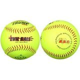Evil Ball Sports Slow Pitch Softball, 12-Inch
