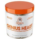 The Genius Brand Genius Heart and Cardiovascular Health Supplement