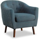Homelegance Lucille Fabric Upholstered Arm Chair