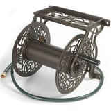 Liberty Garden Products Decorative Cast Aluminum Garden Hose Reel