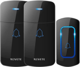 NOVETE Expandable Wireless Doorbell Kit