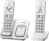 Panasonic DECT 6.0 Expandable Cordless Phone (2 Handsets)