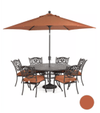 Chateau Outdoor Cast Aluminum 7-Pc. Dining Set