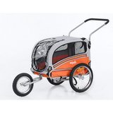 Spenine 2-in-1 pet dog bike trailer bicycle trailer and stroller jogger