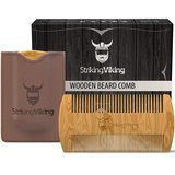 Striking Viking Anti-Static and Hypoallergenic Wood Pocket Comb